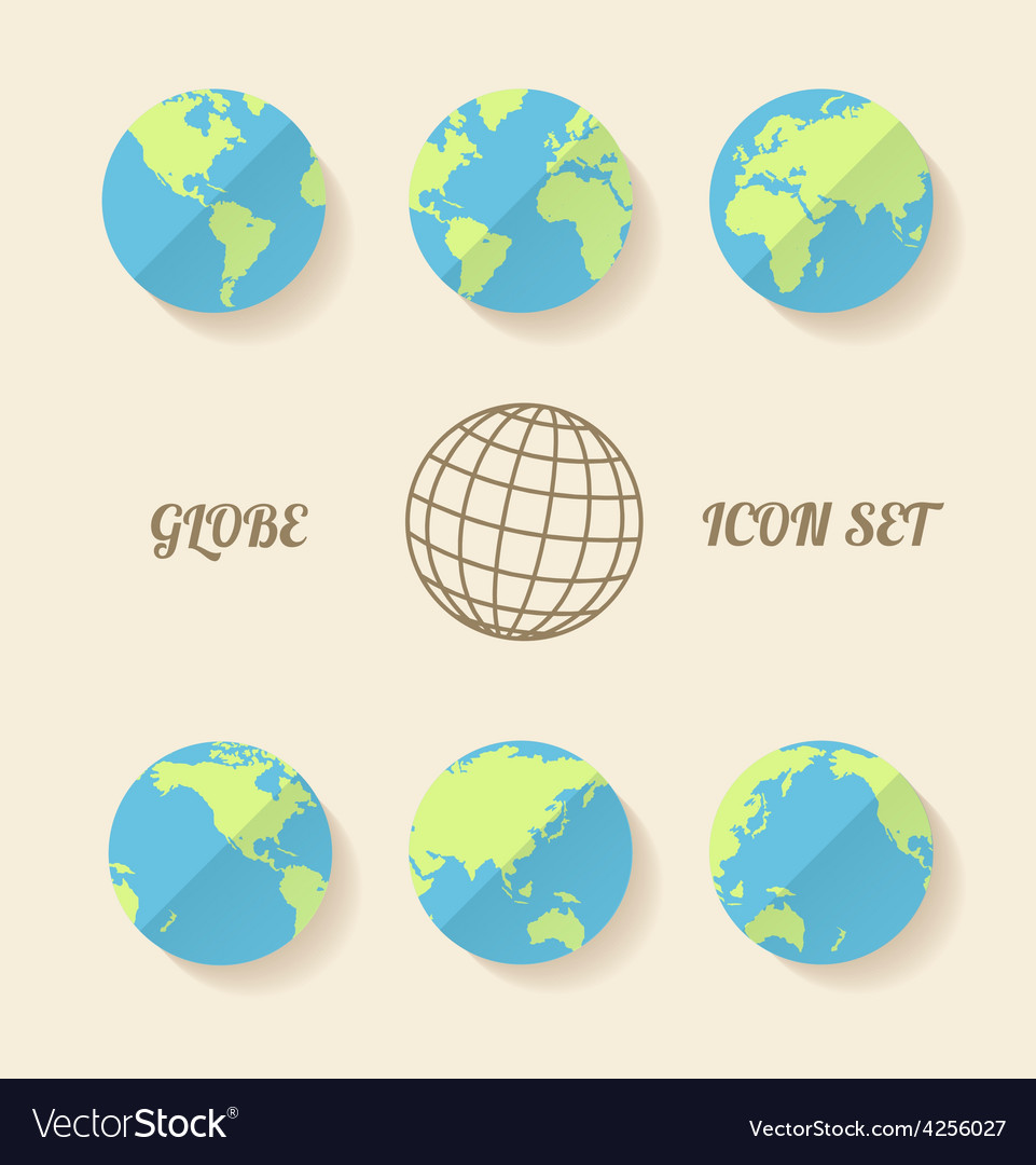 Global set vector | Price: 1 Credit (USD $1)