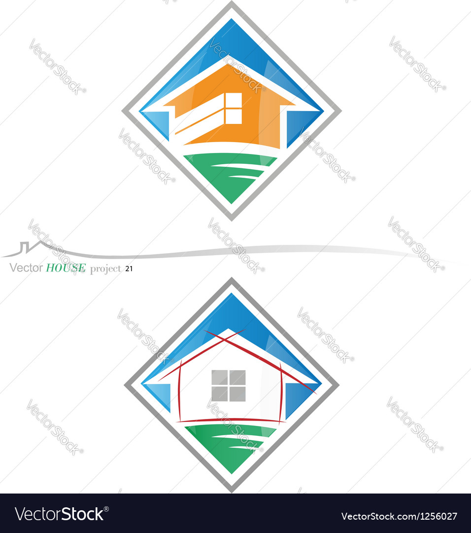 House project 21 vector | Price: 1 Credit (USD $1)