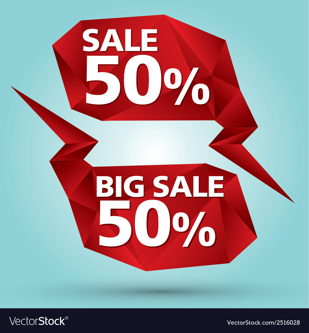 Crystal bubble sale vector | Price: 1 Credit (USD $1)