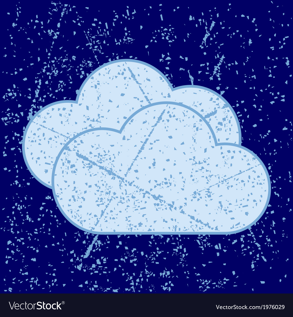 Grunge clouds vector | Price: 1 Credit (USD $1)