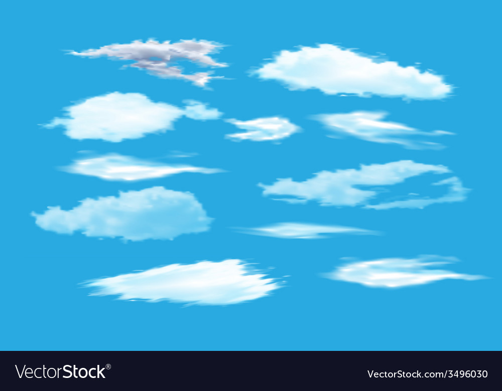 Collection of sky vector | Price: 1 Credit (USD $1)