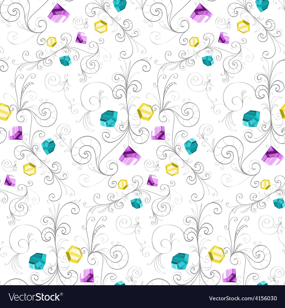 Elegant diamonds texture vector | Price: 1 Credit (USD $1)