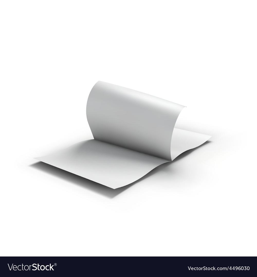 White blank magazine spread business mockup vector   Price: 3 Credit (USD $3)