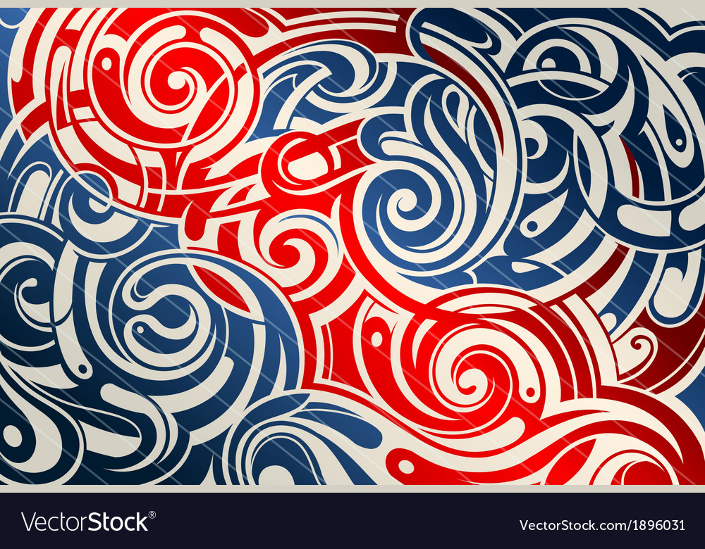Abstract tribal background vector | Price: 1 Credit (USD $1)