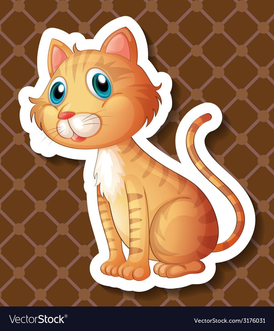 Cat vector | Price: 1 Credit (USD $1)