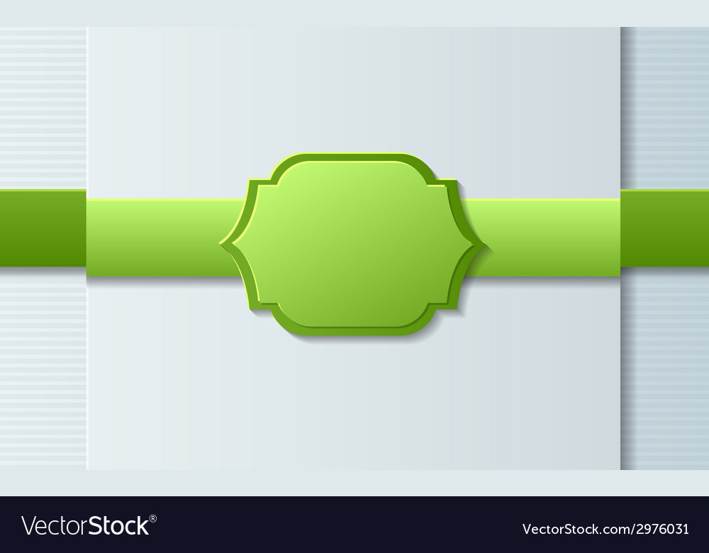Paper design template vector | Price: 1 Credit (USD $1)