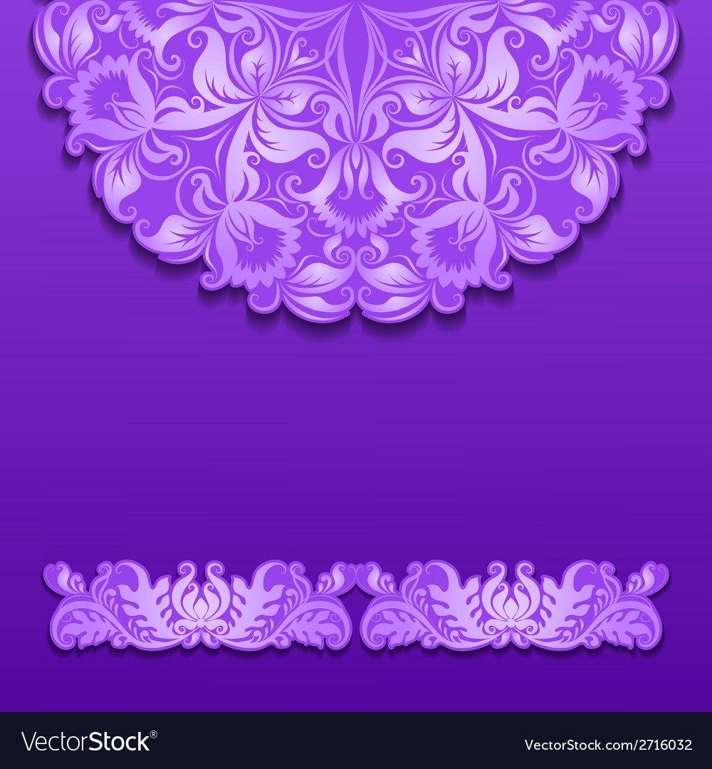 Lace pattern with shadow vector | Price: 1 Credit (USD $1)