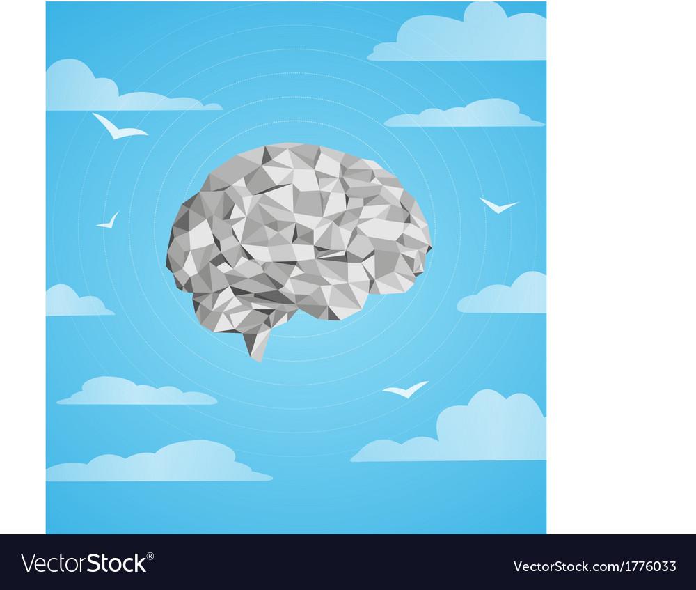 Brain distracted vector | Price: 1 Credit (USD $1)