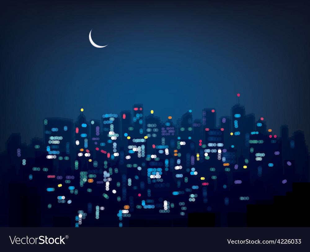 City night vector   Price: 1 Credit (USD $1)