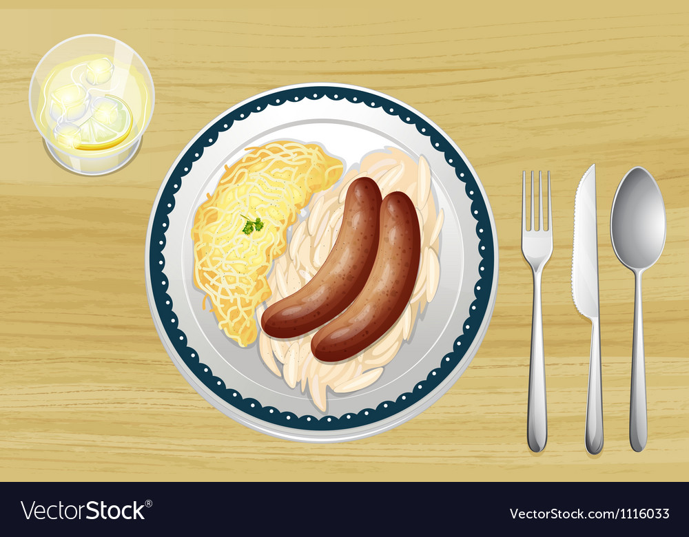 Dinner vector | Price: 1 Credit (USD $1)