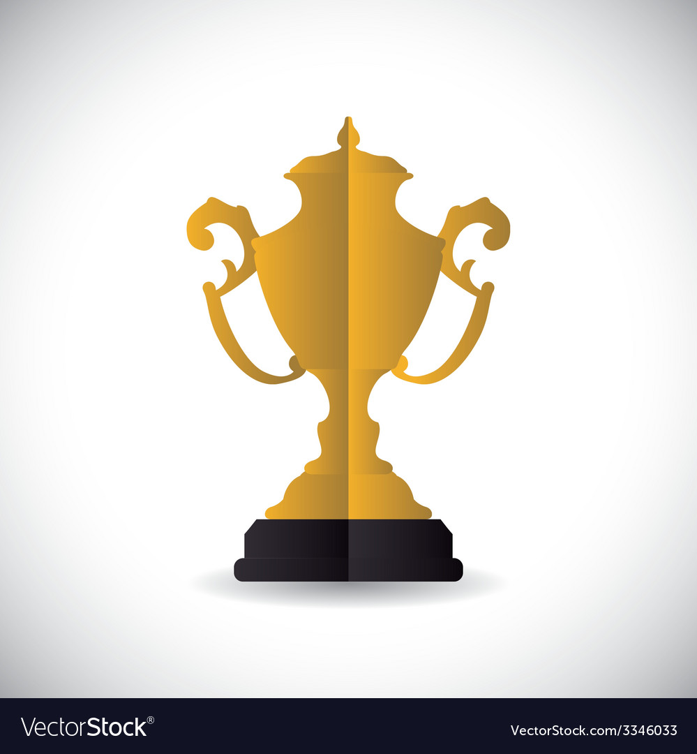 Trophy design vector | Price: 1 Credit (USD $1)