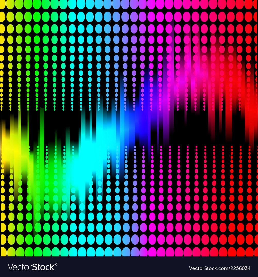 Abstract background with spectrum vector | Price: 1 Credit (USD $1)