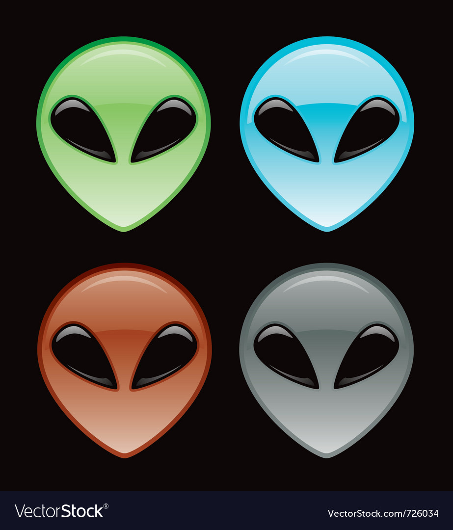 Alien icon vector | Price: 1 Credit (USD $1)