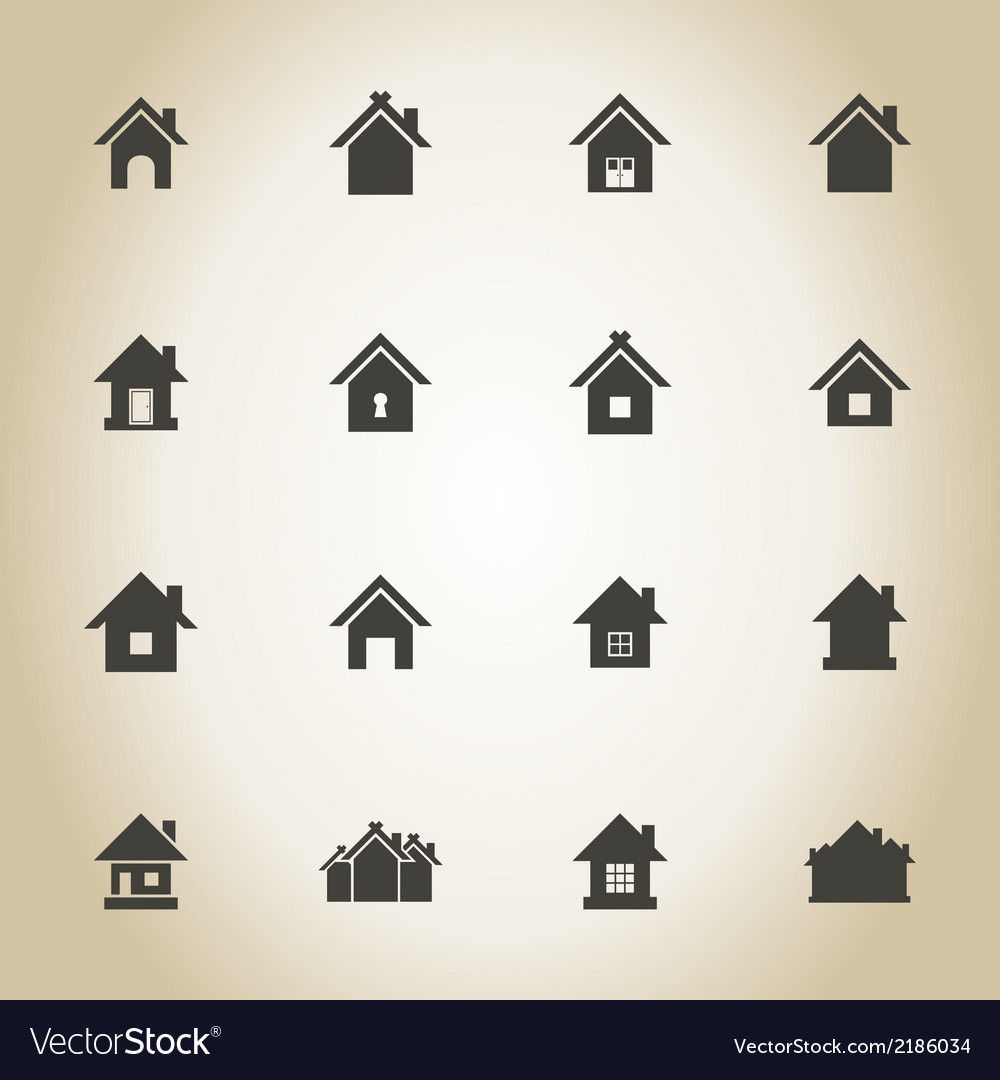House an icon vector | Price: 1 Credit (USD $1)