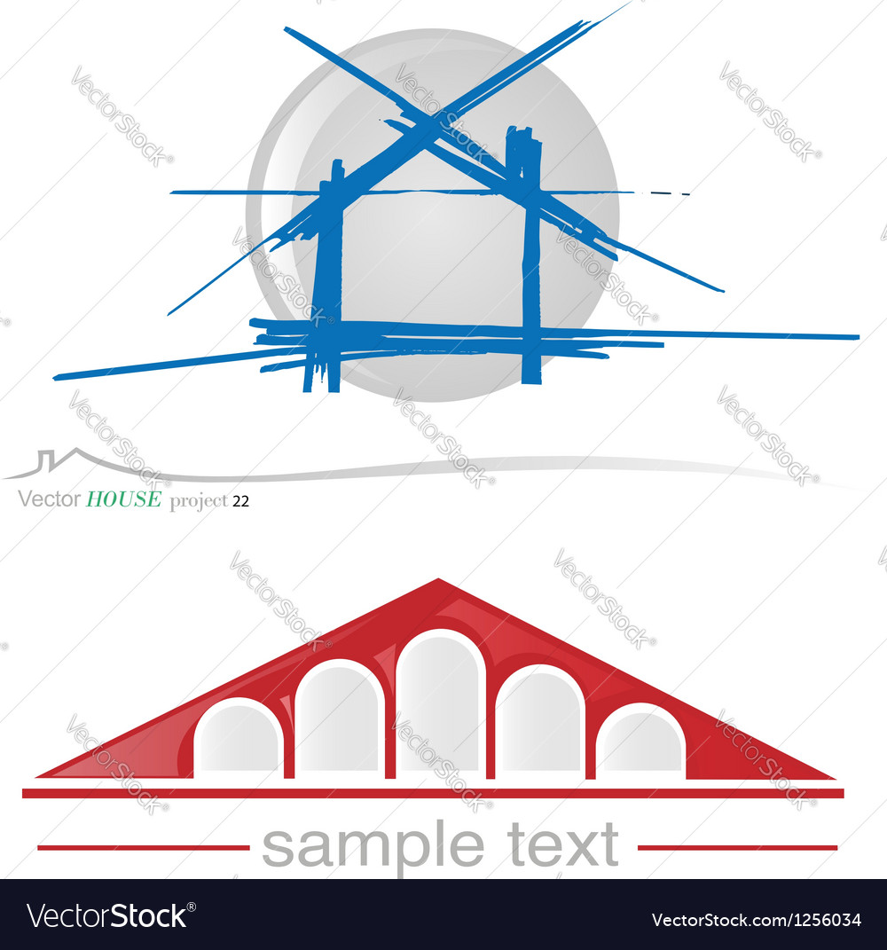 House project 22 vector | Price: 1 Credit (USD $1)