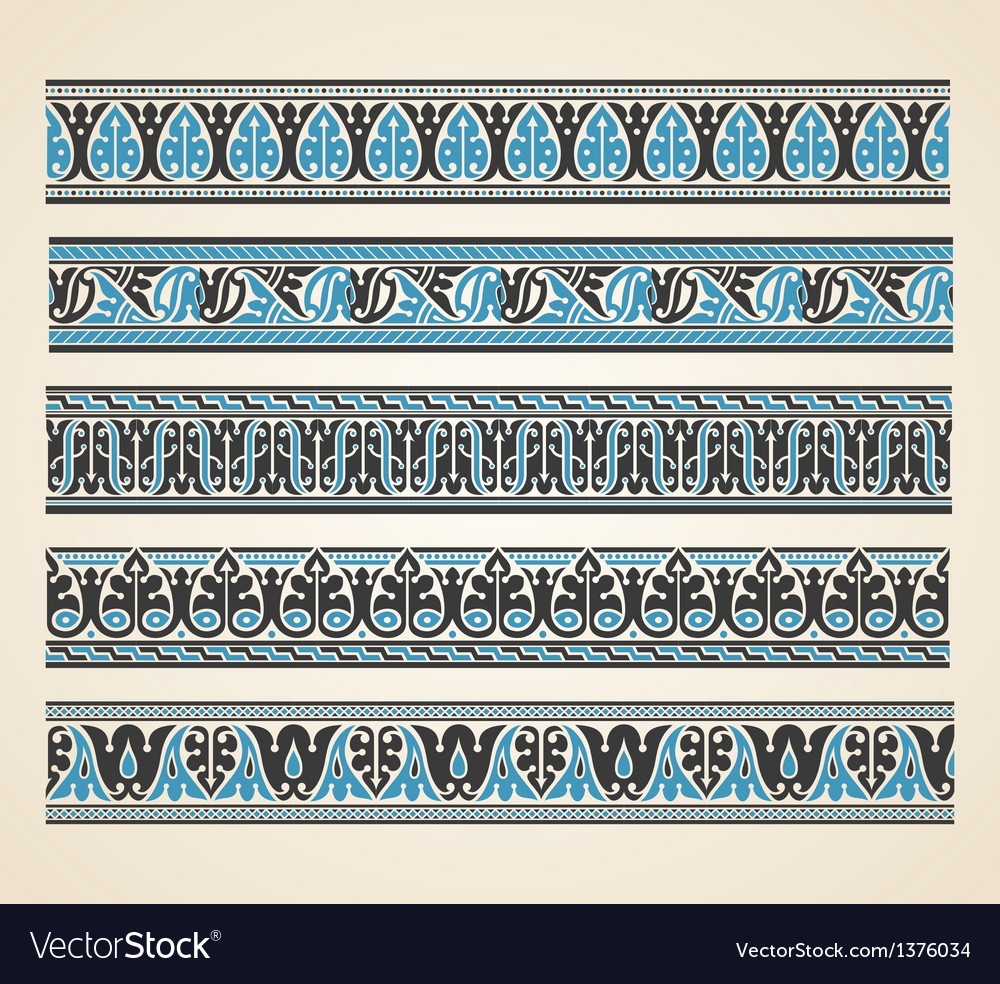 Old greek ornament vector | Price: 1 Credit (USD $1)