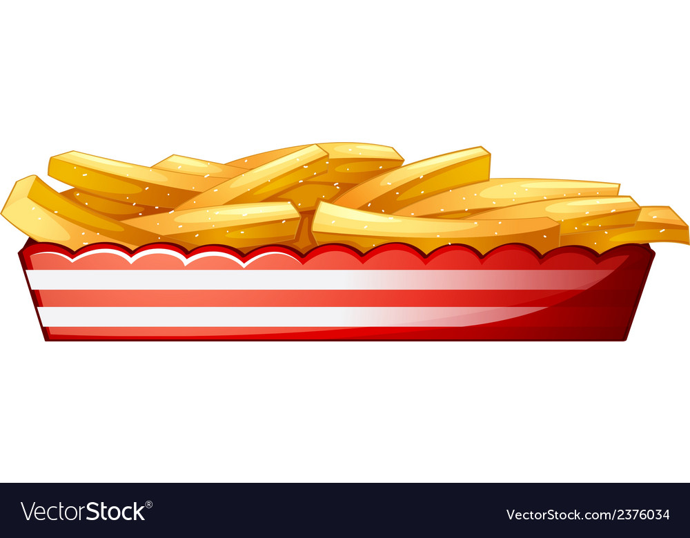 Potato fries vector | Price: 1 Credit (USD $1)