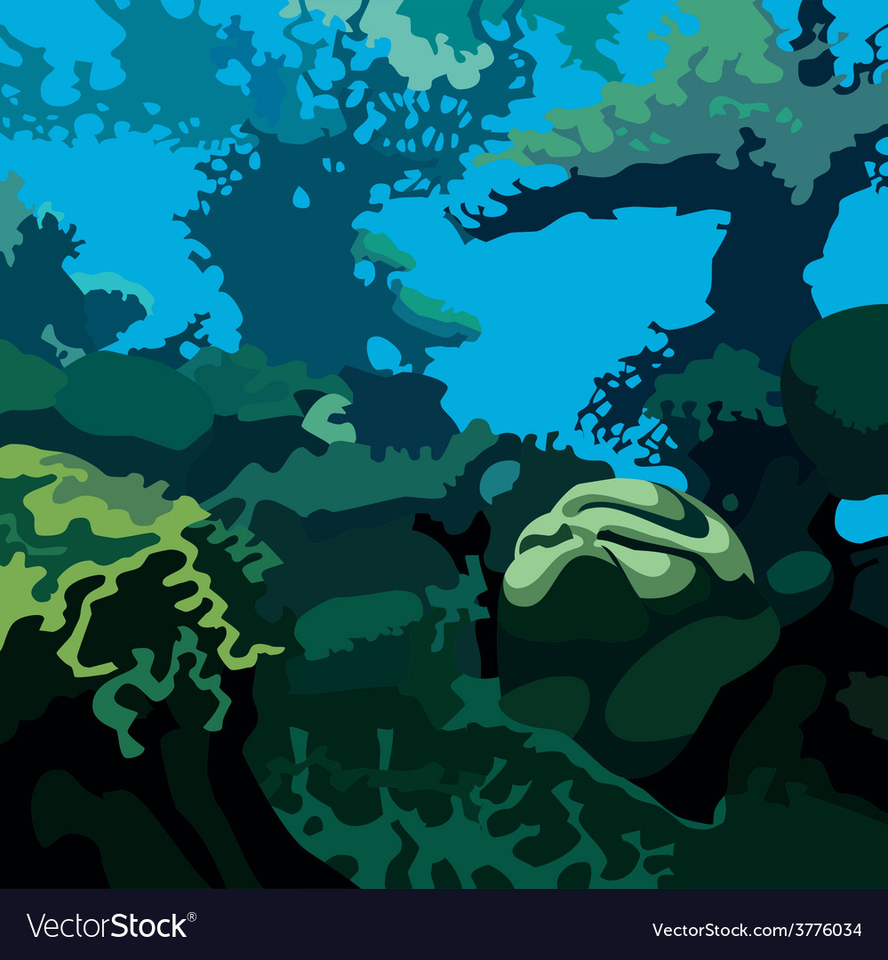 Underwater background vector | Price: 3 Credit (USD $3)