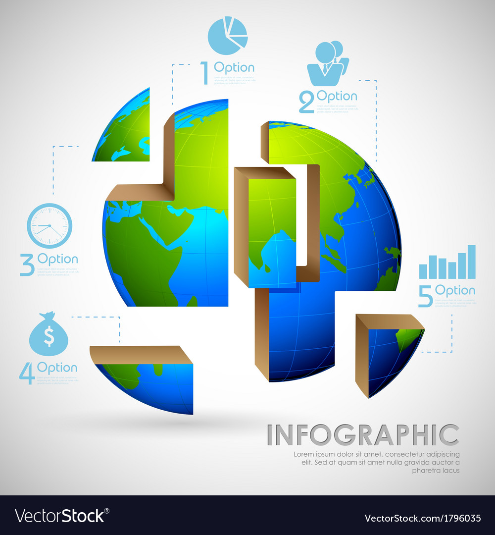 Business infographics vector | Price: 1 Credit (USD $1)