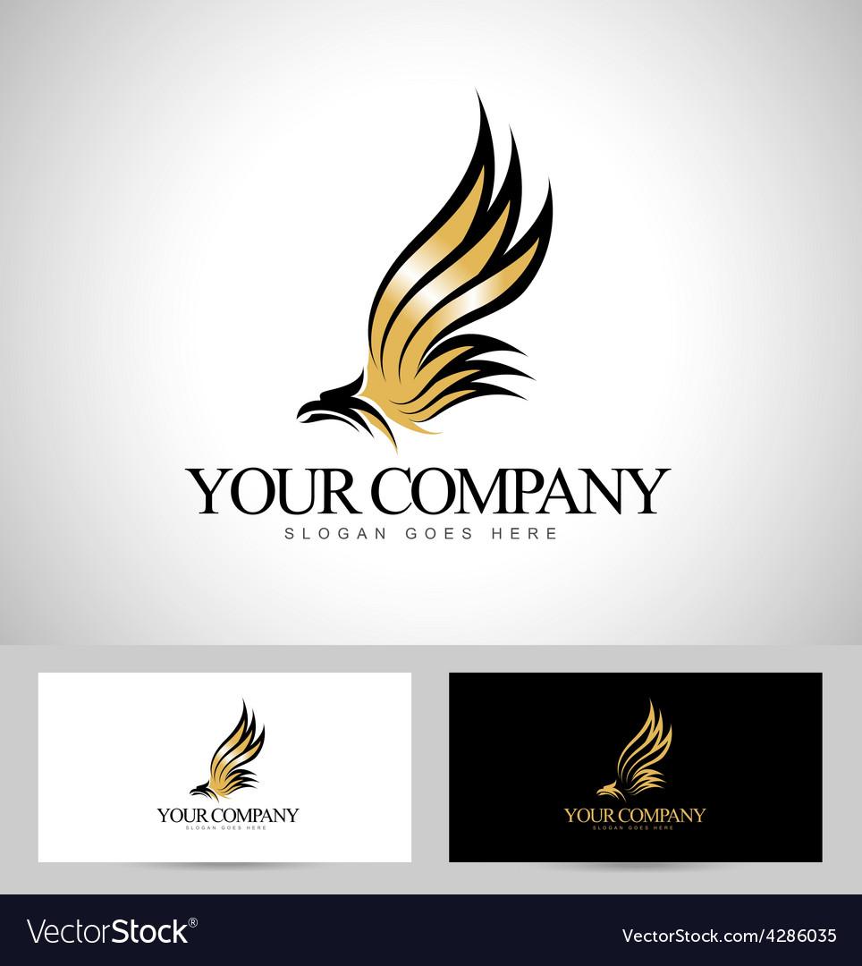 Eagle logo vector | Price: 1 Credit (USD $1)