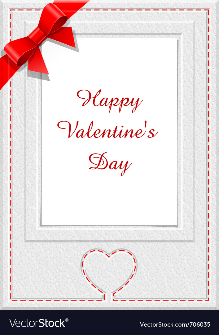 Frame for saint valentines day eps10 transparent o vector | Price: 1 Credit (USD $1)