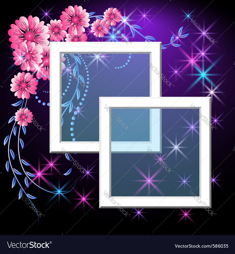 Page layout photo frame vector | Price: 1 Credit (USD $1)