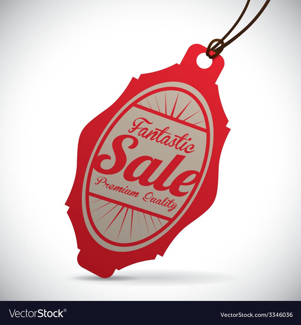Commerce tag design vector   Price: 1 Credit (USD $1)