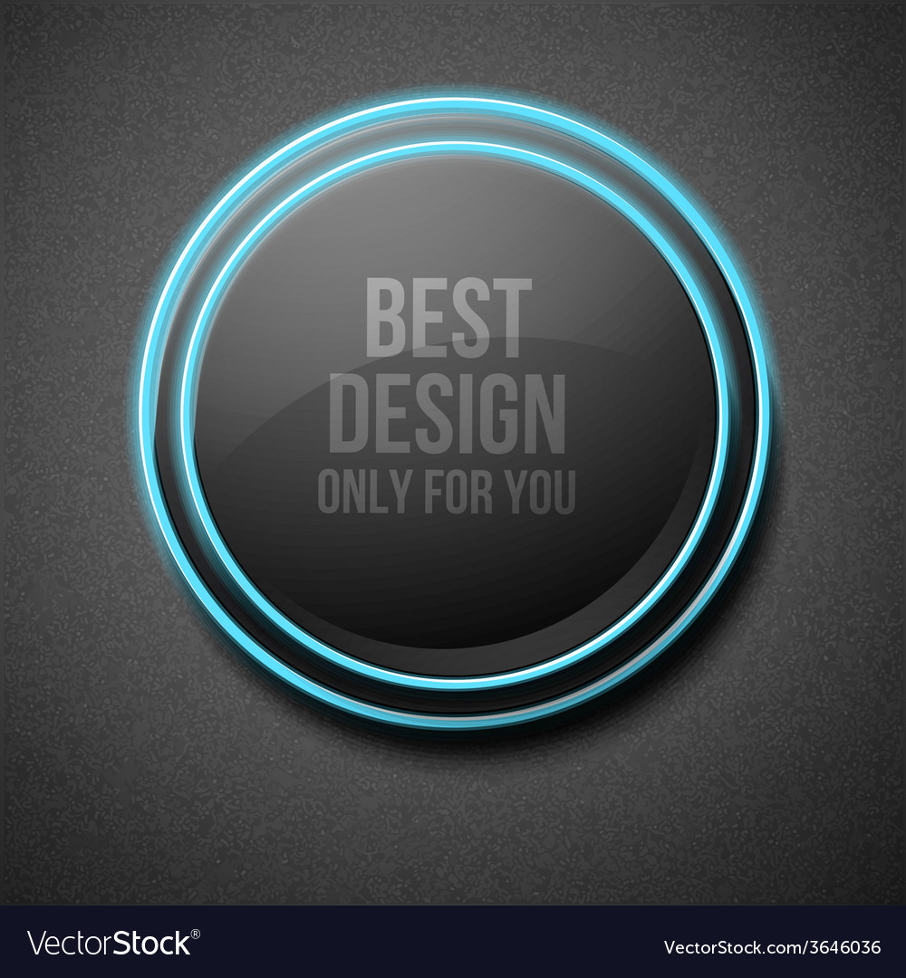 Glow round plate vector | Price: 1 Credit (USD $1)