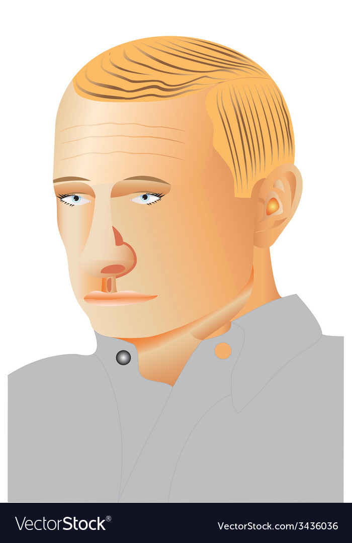 Man profile portrait vector | Price: 1 Credit (USD $1)