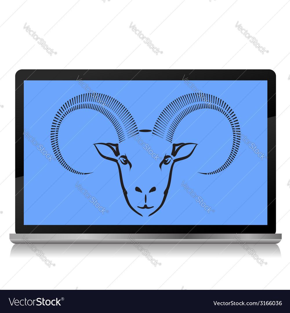 Ram screen vector | Price: 1 Credit (USD $1)