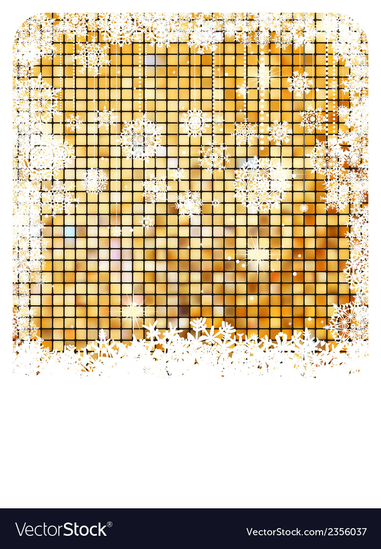 Cristmas background bright mosaic eps 8 vector | Price: 1 Credit (USD $1)