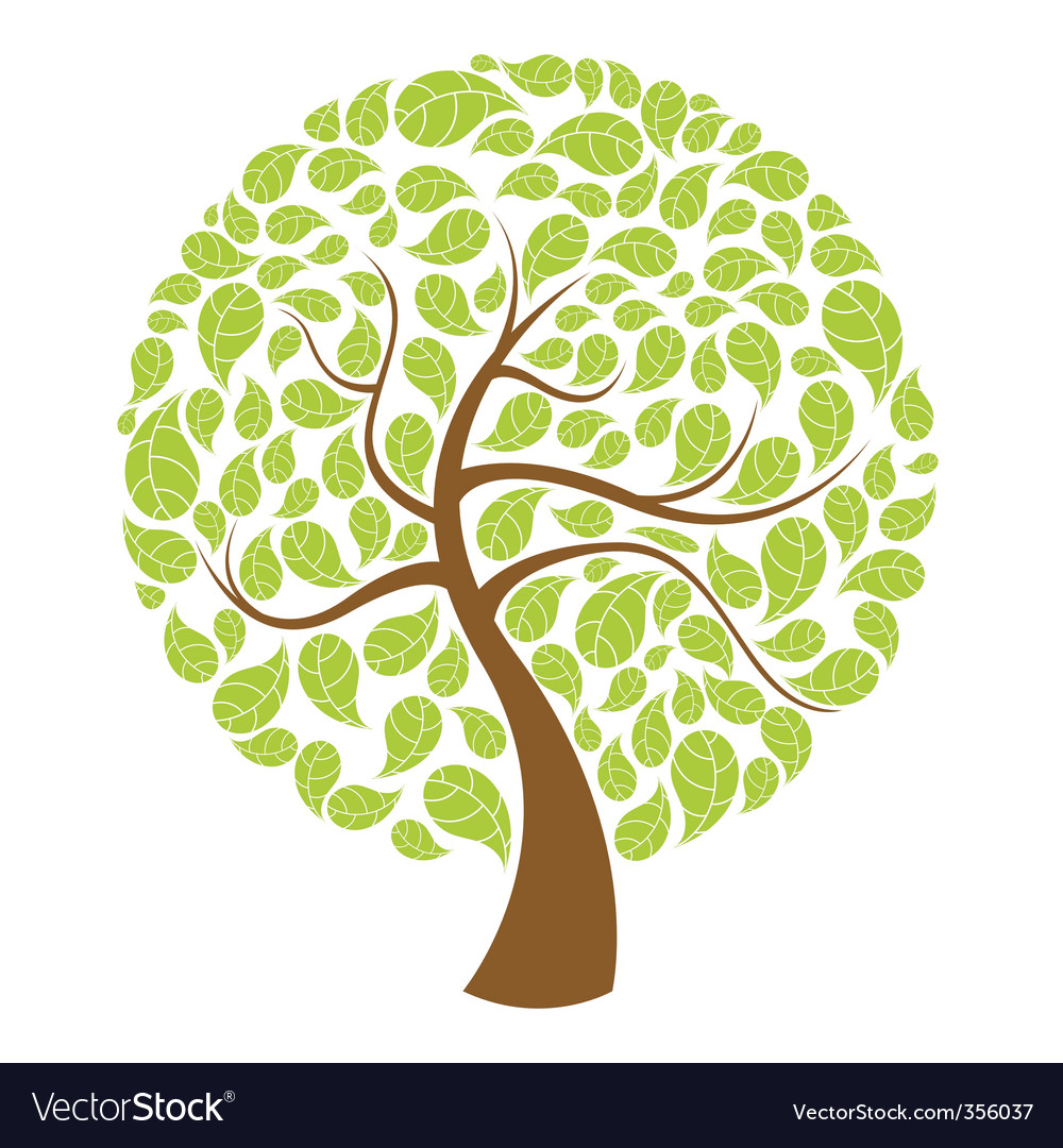 Natural tree vector | Price: 1 Credit (USD $1)