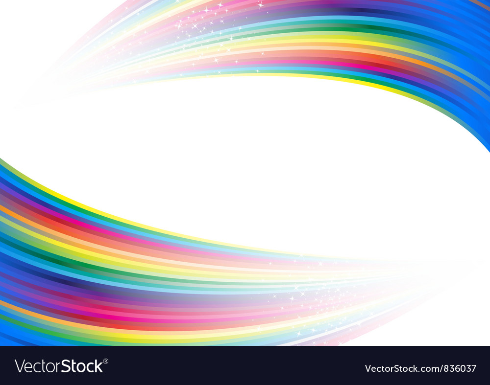 Rainbow colorful advertisement vector | Price: 1 Credit (USD $1)
