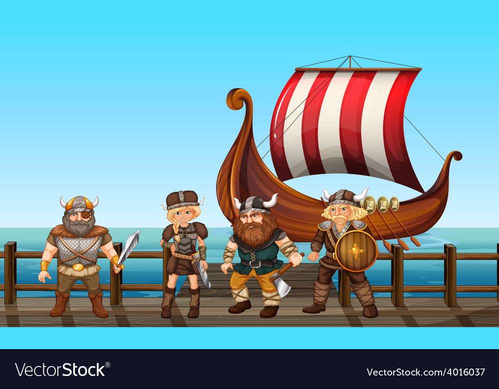 Vikings vector