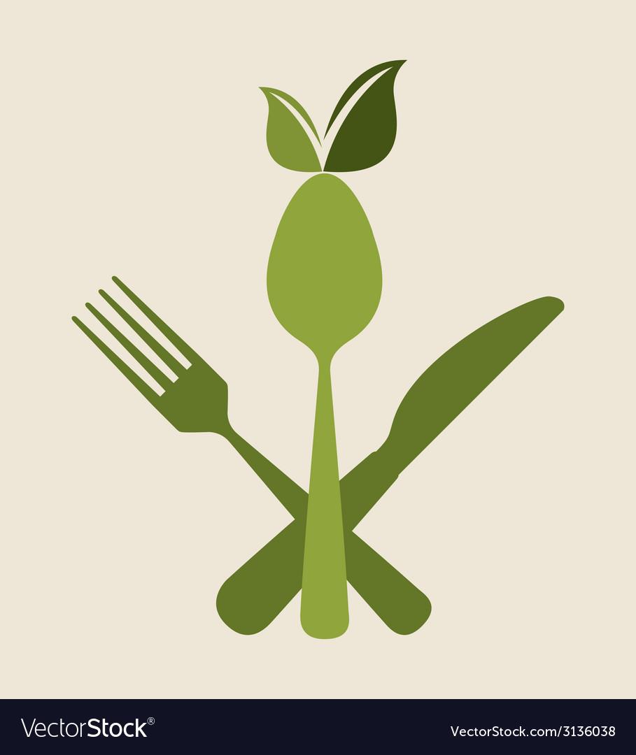 Cutlery menu design vector | Price: 1 Credit (USD $1)