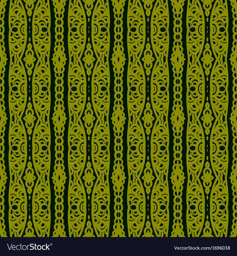 Ethnic pattern with lacy ornament vector | Price: 1 Credit (USD $1)