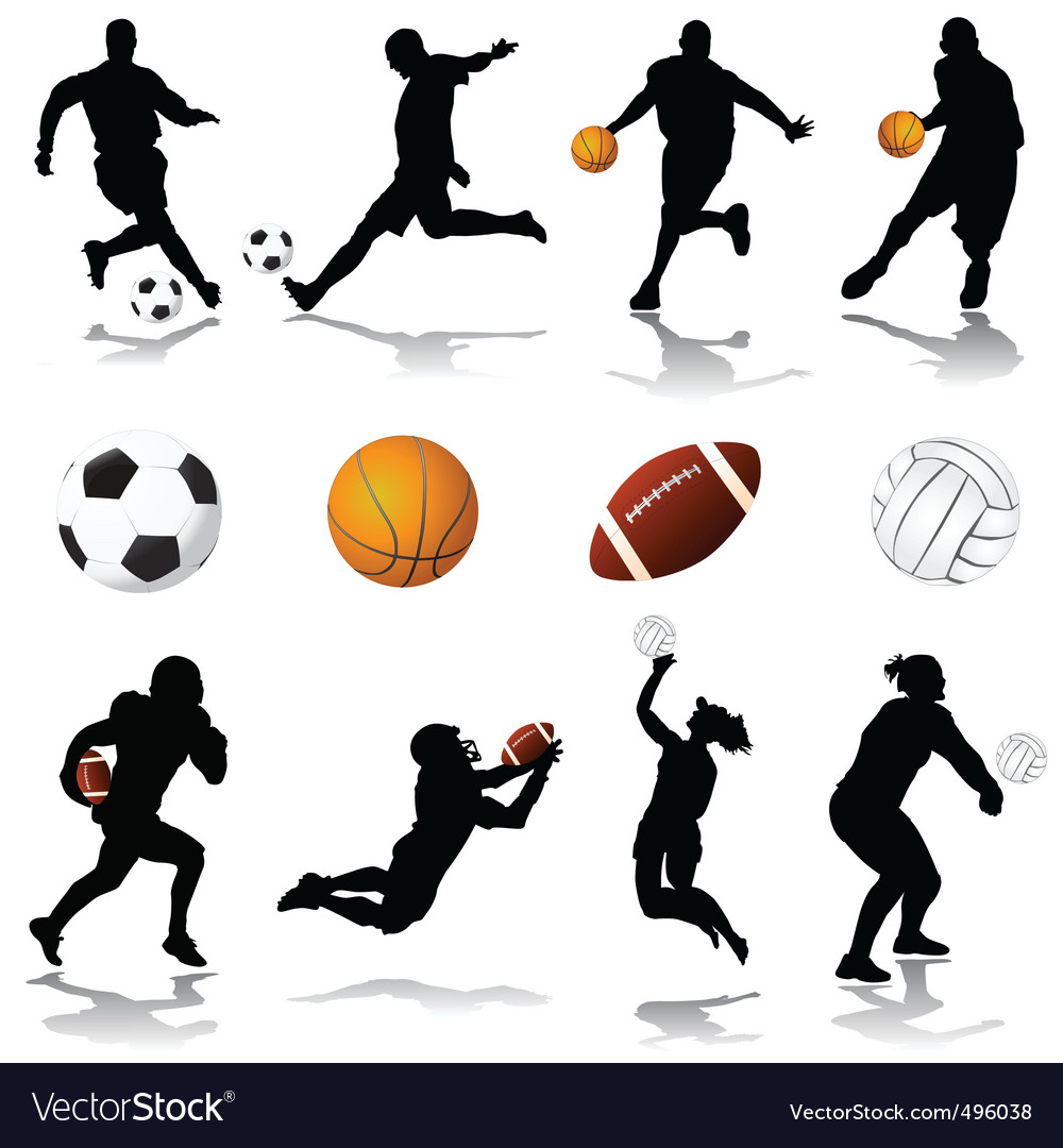 Sport set vector | Price: 1 Credit (USD $1)