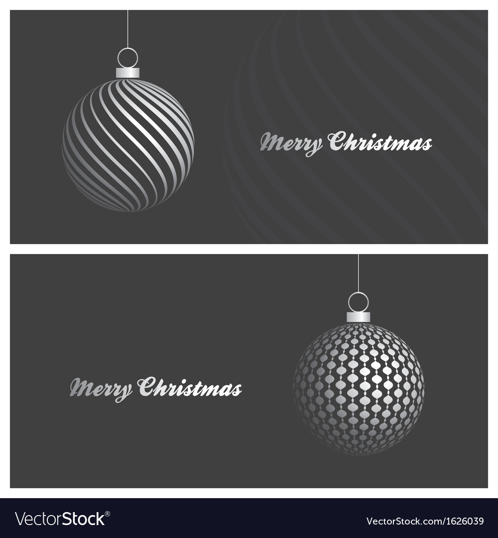Modern and elegant christmas card backgrounds vector | Price: 1 Credit (USD $1)