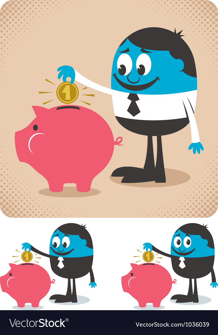 Savings vector | Price: 3 Credit (USD $3)