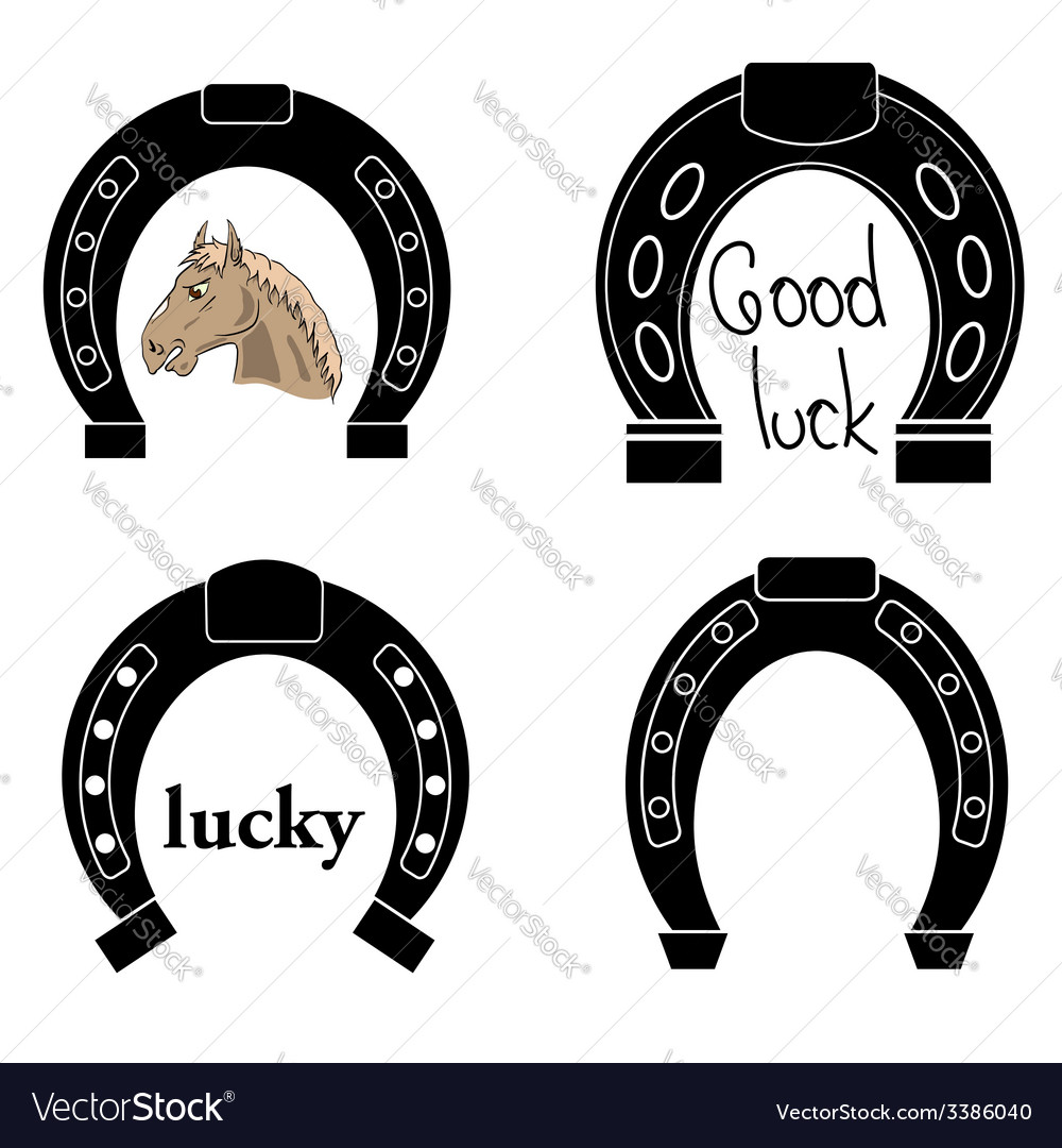 Horseshoe vector | Price: 1 Credit (USD $1)