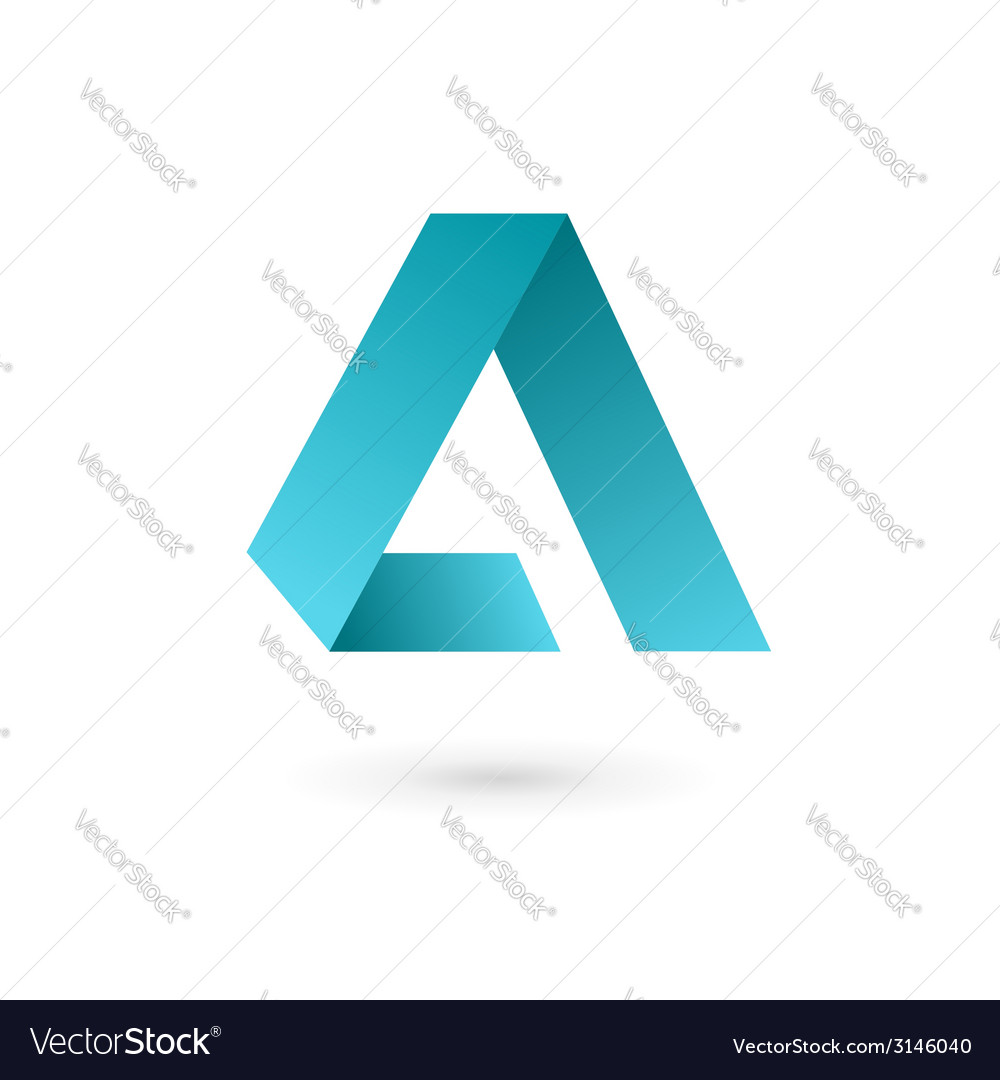 Letter a logo icon design template elements vector | Price: 1 Credit (USD $1)