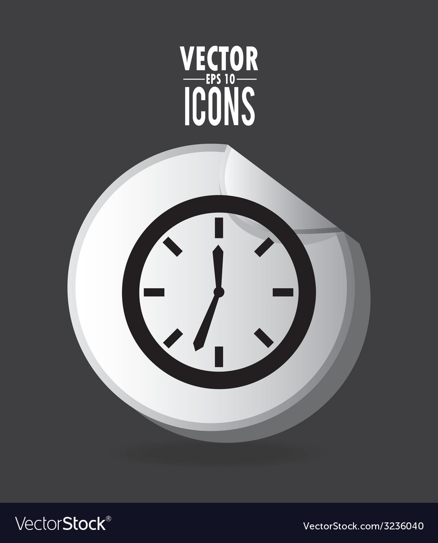 Time design vector | Price: 1 Credit (USD $1)