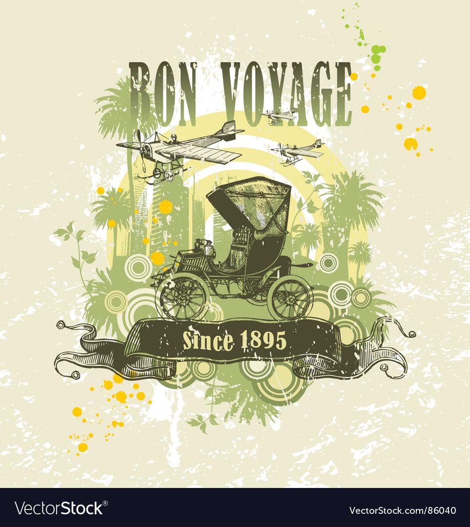 Vintage composition vector | Price: 1 Credit (USD $1)