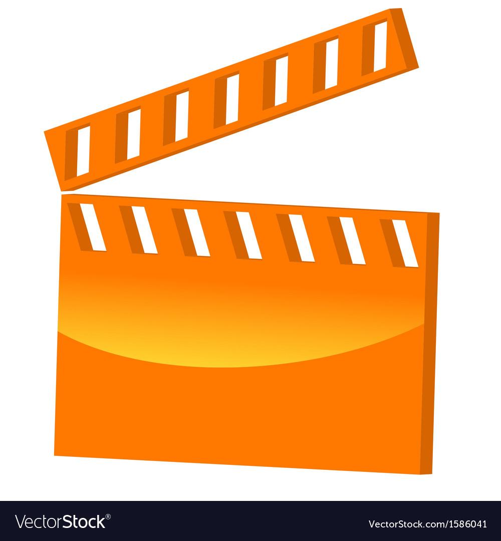 3d symbol movie vector | Price: 1 Credit (USD $1)