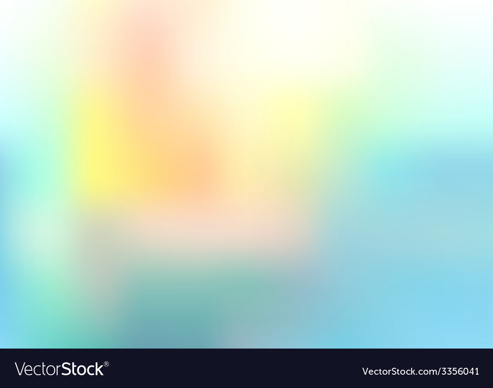 Abstract colorful soft background vector | Price: 1 Credit (USD $1)