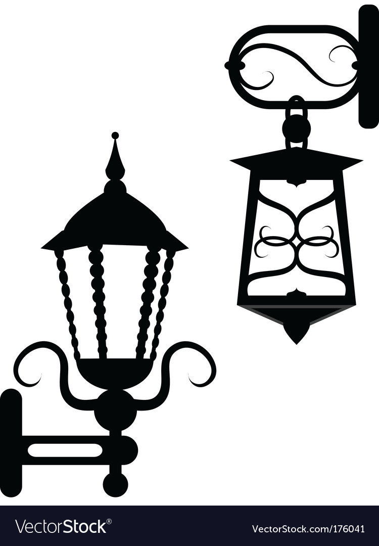 Ancient street fixtures vector | Price: 1 Credit (USD $1)