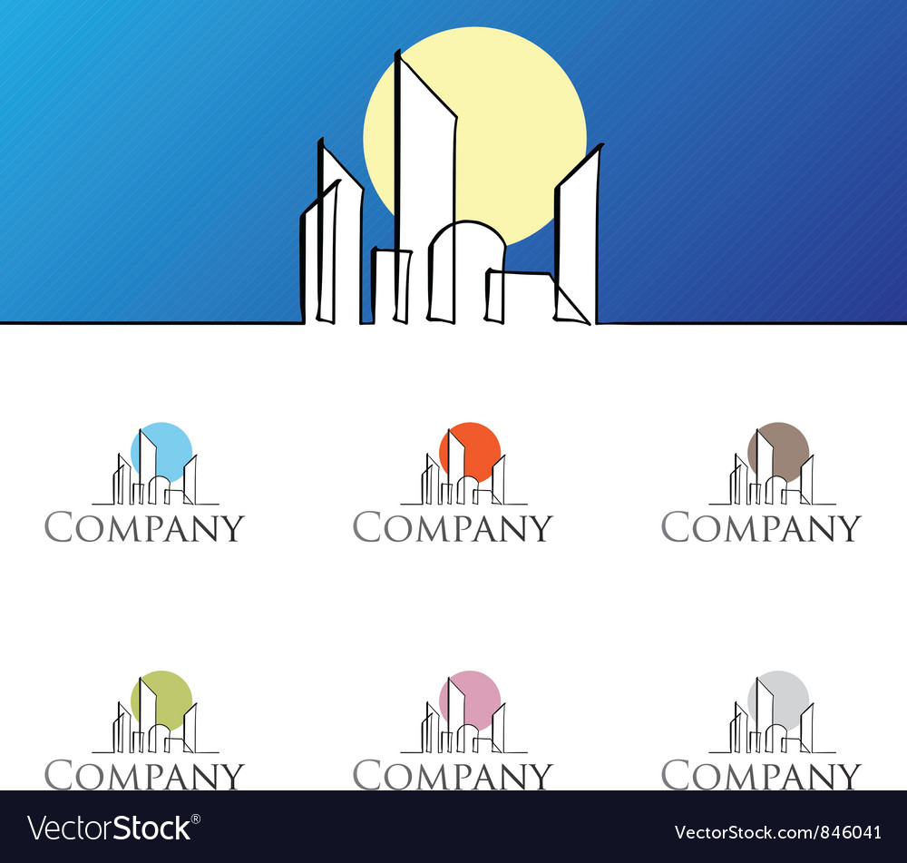 Residential logo vector | Price: 1 Credit (USD $1)