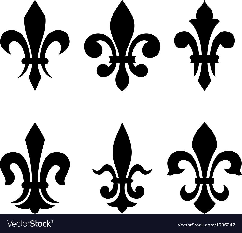 Heraldic symbol fleur de lis vector | Price: 1 Credit (USD $1)