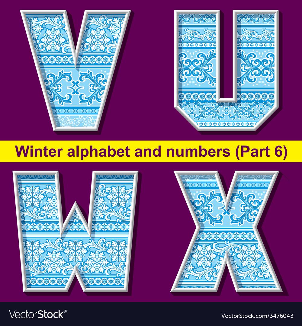 Winter abc 06 vector   Price: 1 Credit (USD $1)