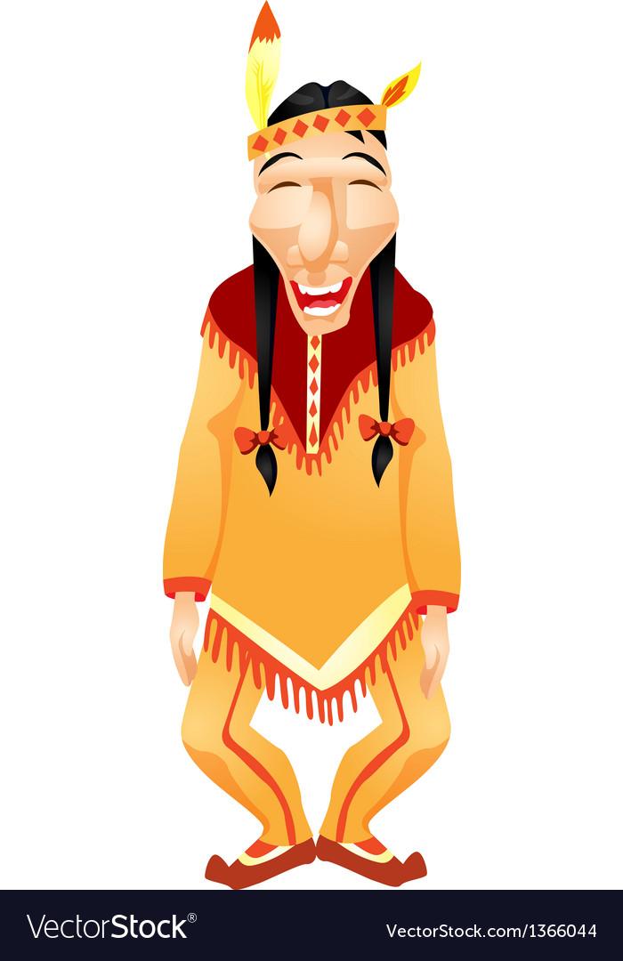 Aborigine vector | Price: 1 Credit (USD $1)